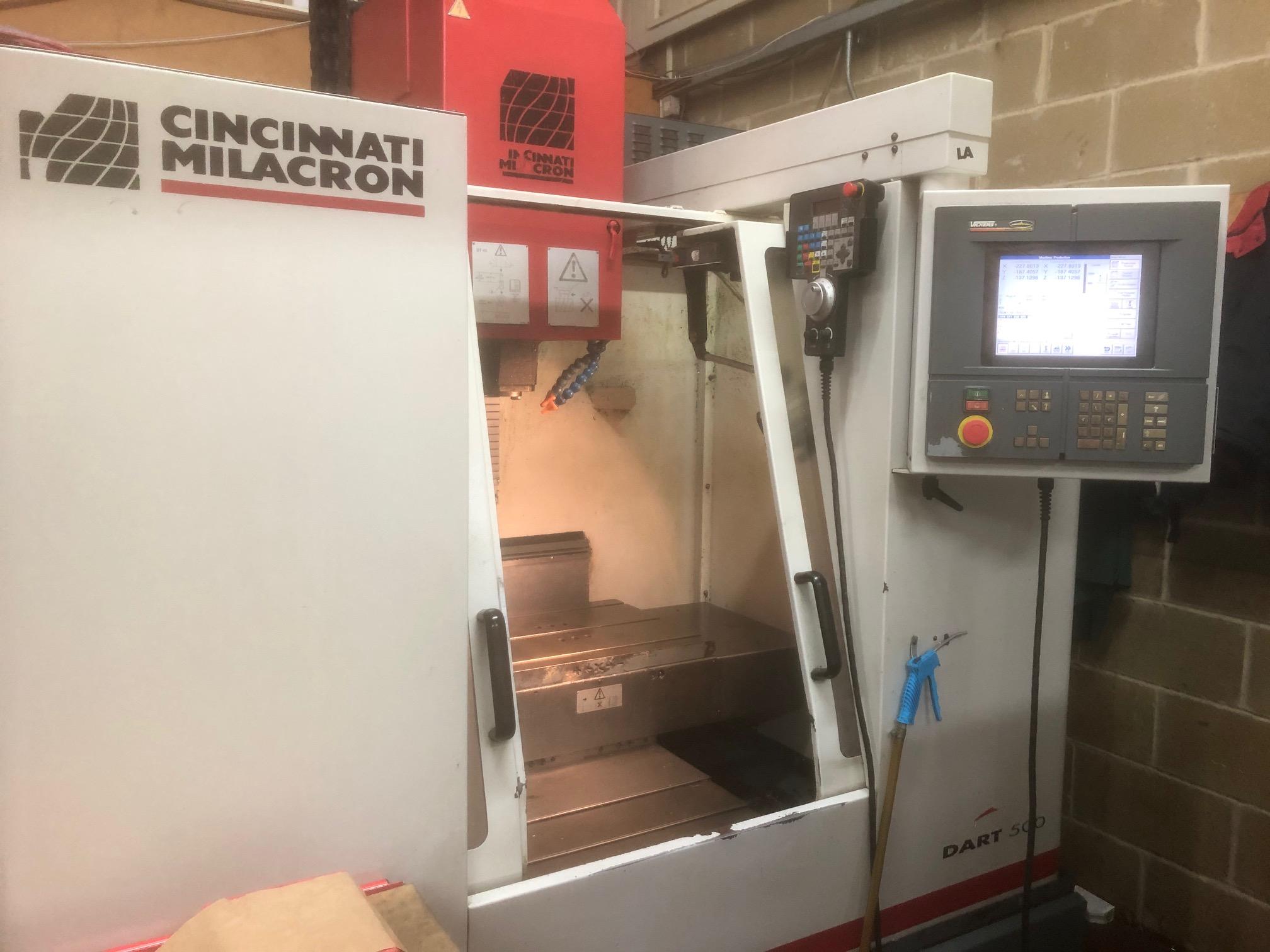 Cincinnati Dart vertical milling machine from Fort Precision