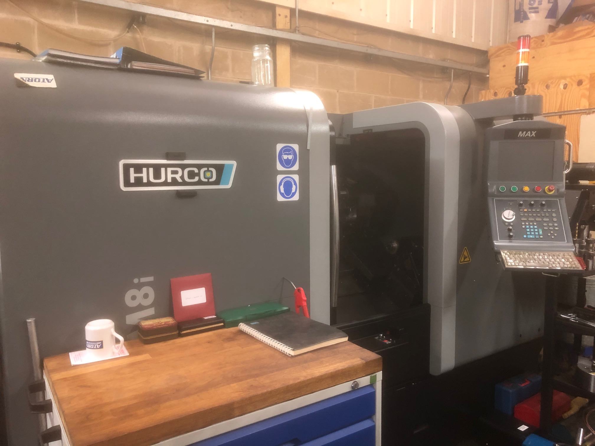Hurco TM18i turning centre machine from Fort Precision