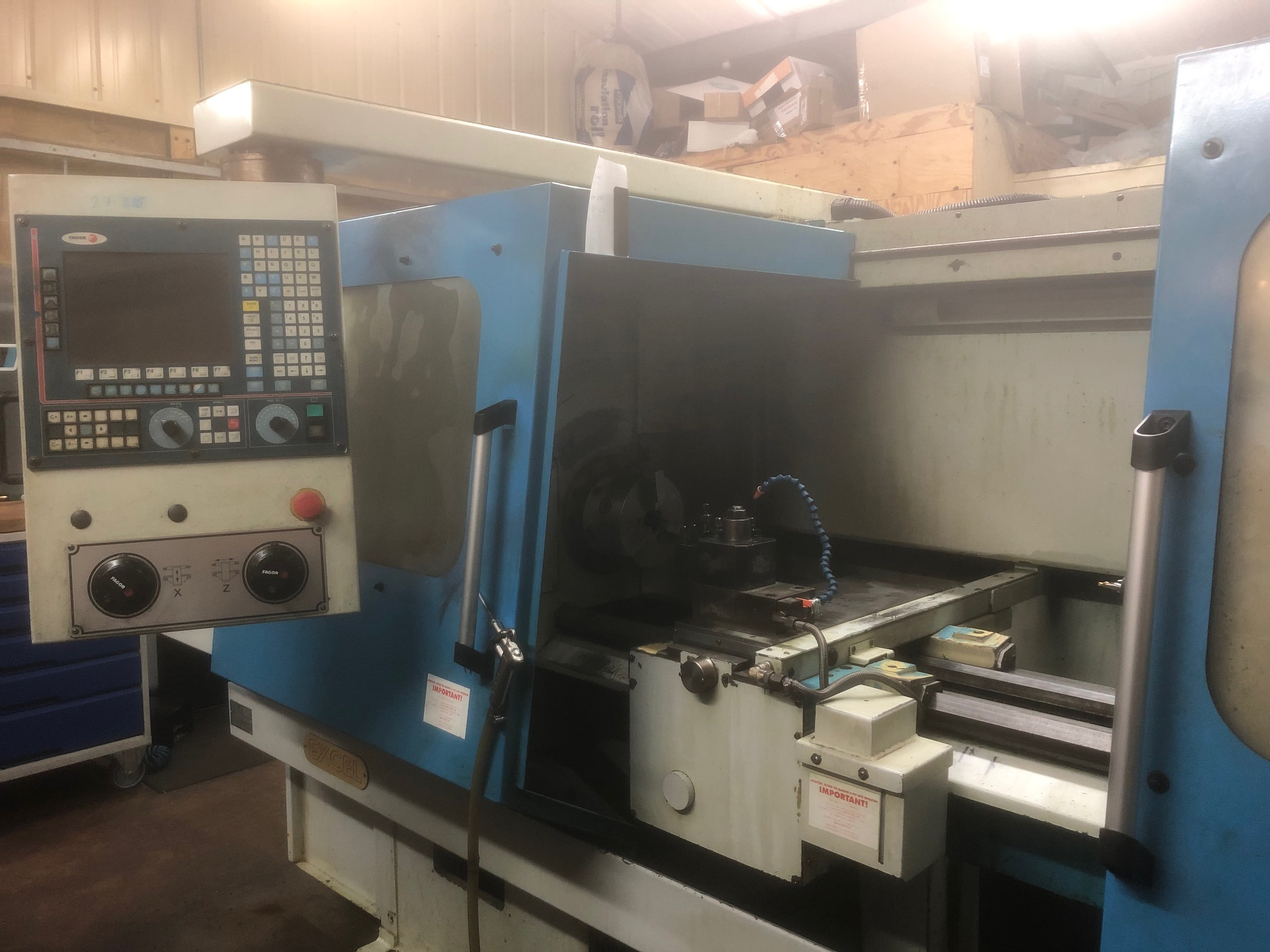 Excel Mustang turning centre machine from Fort Precision