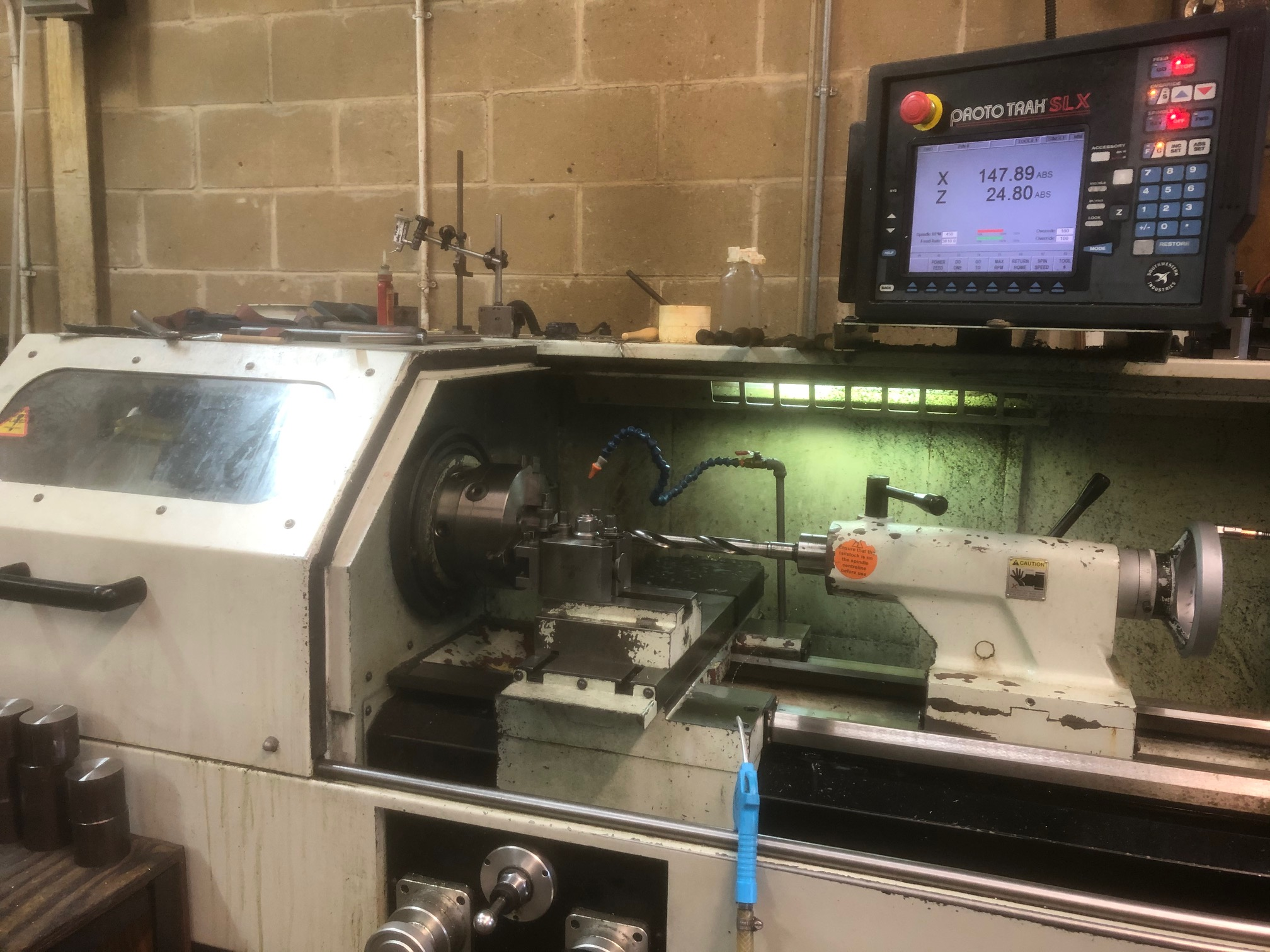 XYZ SLX1630 turning centre machine from Fort Precision
