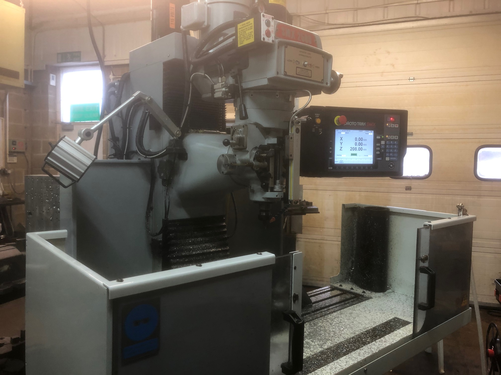 SMX 2500 Bed Mill machine from Fort Precision
