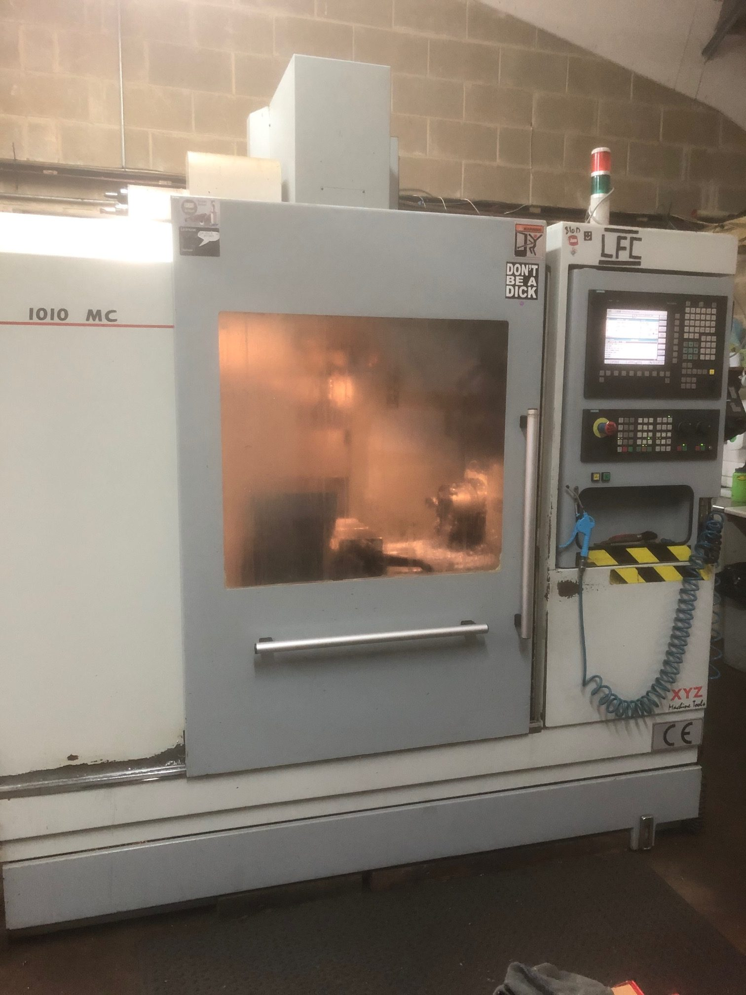 vertical milling centre milling machine from Fort precision